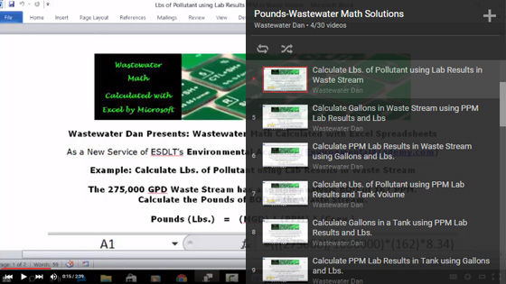 Pounds-Wastewater-Math-Solutions-Playlist